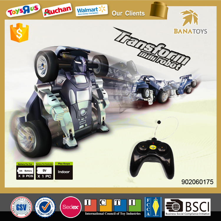 2016 Newest upgrade rc car product rc car toy robot to kids