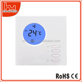 Cheap flexiible programmable fan coil thermostat