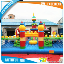 Kids toys castle theme park amusement playground inflatable children park outdoor park