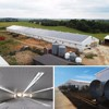 iso prefab construction design steel structure poultry farm for Algeria