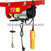 PA wire rope sling type mini electric trolley