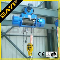 High quality advanced electric hoist crane 2 tons overhead electric hoist