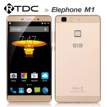 Original Elephone M1 4G LTE Mobile Phone 5.5 inch 2GB RAM 16GB ROM 13MP MTK6753 64Bit Quad Core Andriod 5.1 1280 x720 Dual SIM
