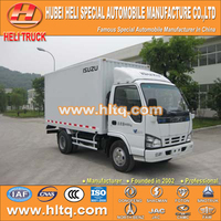 Japan technology 4x2 8tons 120hp box van truck good price