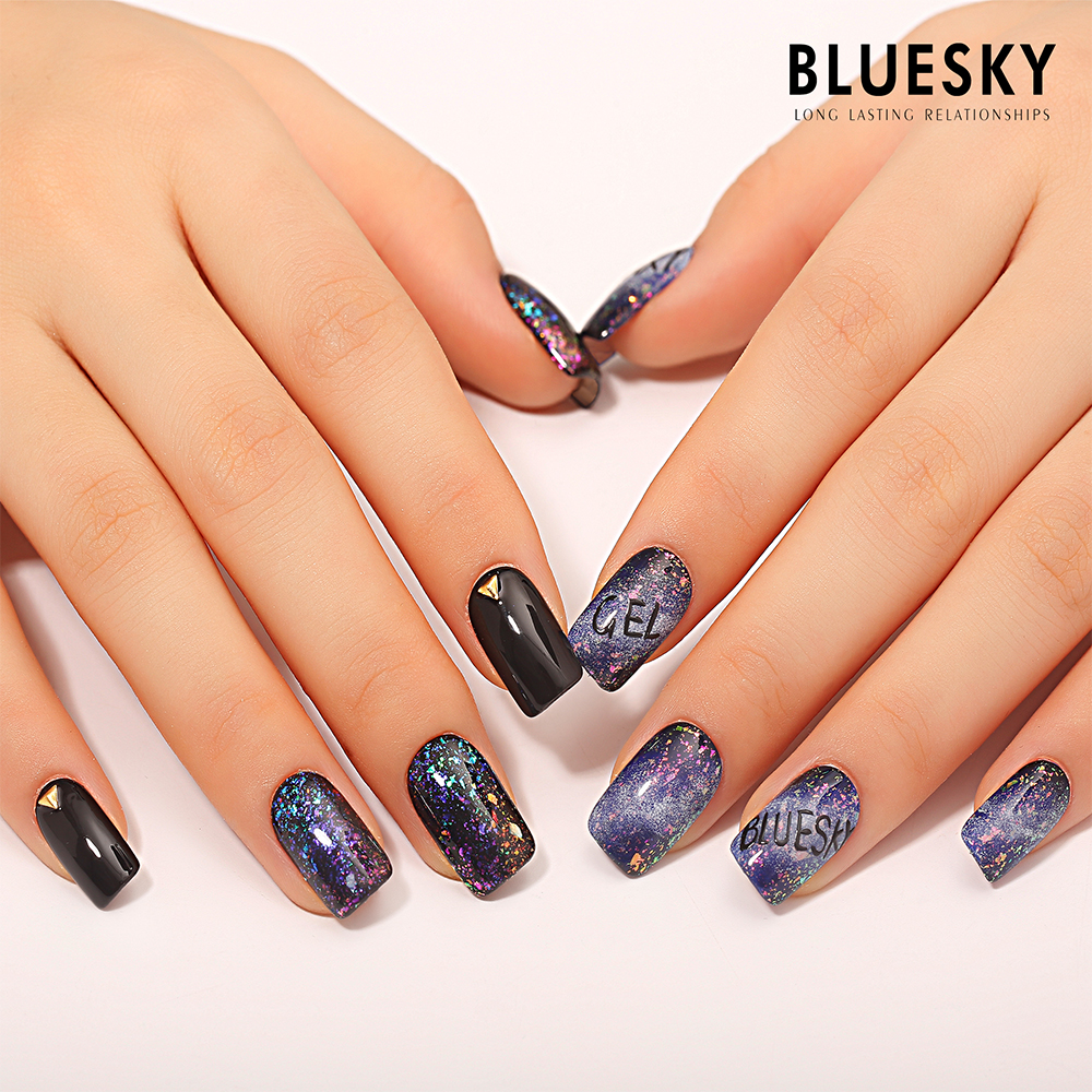 Bluesky New Galaxy Magic Color Gel Nail Polish - Buy Soak Off Gel ...