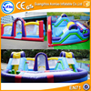 Indoor inflatable playground equipment inflatable fun city for sale