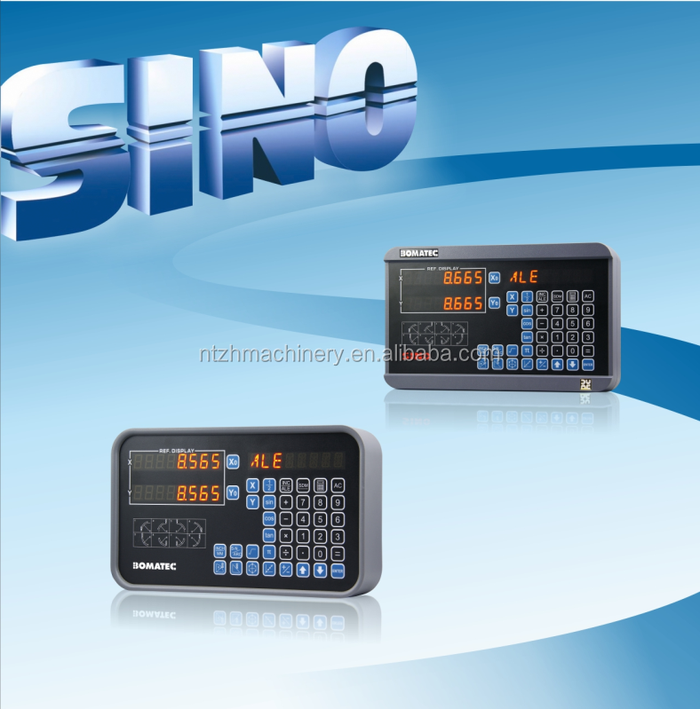 Digital Readout (DRO) with 2 axis, SINO dro, SDS2MS for milling machine