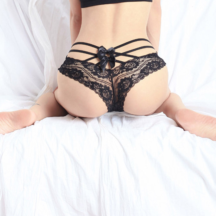 Get Quotations  C2 B7 Black Red Pink Sexy Lace Butt Panties Underwear Lingerie G String T Back Thongs G