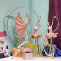 dancing girls resin crafts sculpture for wedding gifts