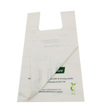 cheap biodegradable t-shirt shopping poly bag