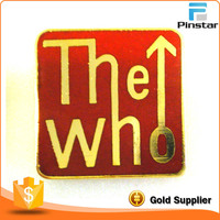 THE WHO enamel Lapel Pin Badge POP MUSIC ROCK HEAVY METAL BAND POP GROUP