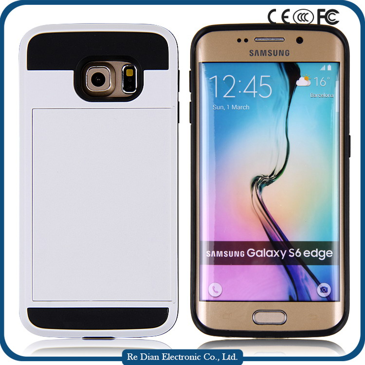 Free sample hot selling design handphone protective cover for cell phone with inserting cards