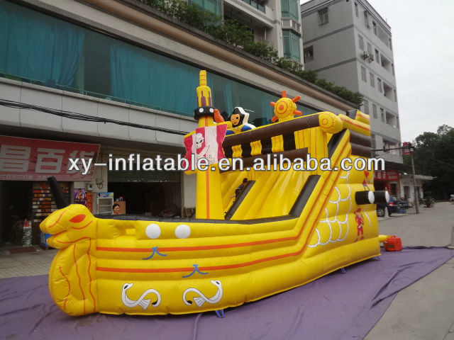 2013 inflatable pirate castle jumping castles inflatable water slide