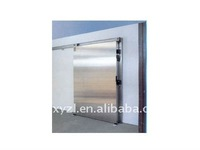 Stainless sliding cold room door