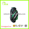 2014 customised golf bag with wheels and zippers
