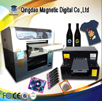 6 Color Professional Inkjet PVC Card Printing Machine for Sale