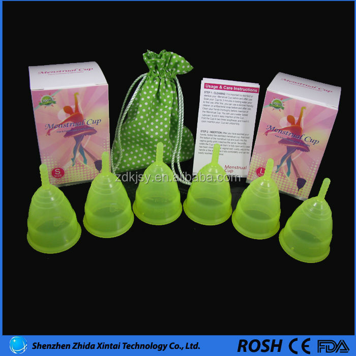 silicone menstrual cup 55 degree Health cup