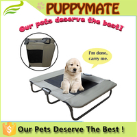 Waterproof Outdoor Dog Bed Cot with Elevated/Raised Mesh Design For Small and Large Dogs