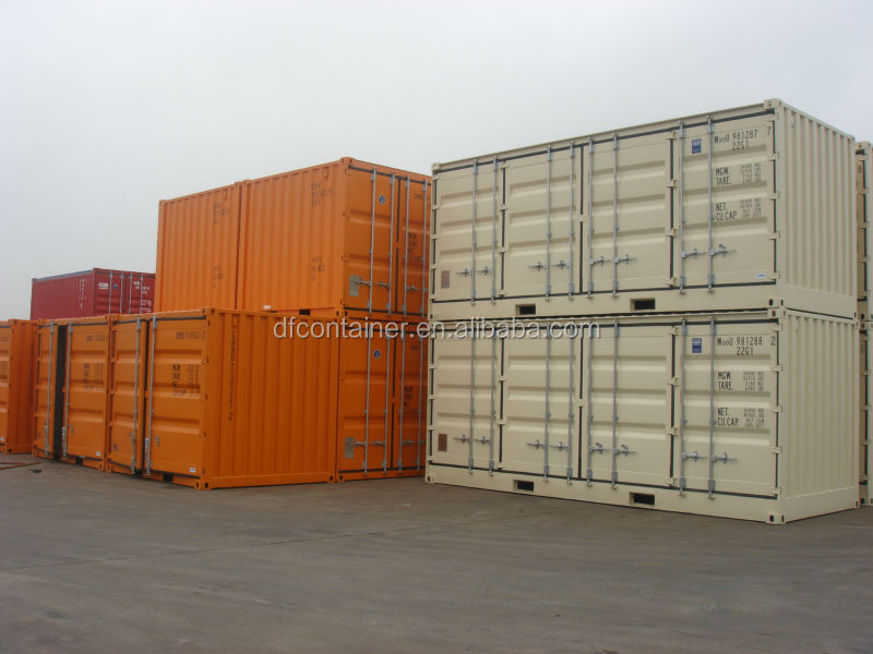 20' side open shipping container for inland transporting
