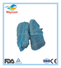 disposable antislip running plastic nonwoven shoes cover