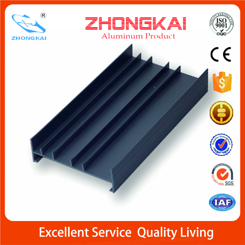 Black Oxidatino Aluminum Frame sliding door parts