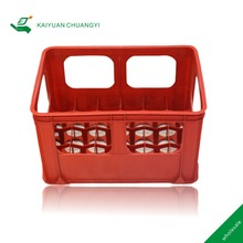 Factory supply plastic beverage crates beer bottle packaging storage box