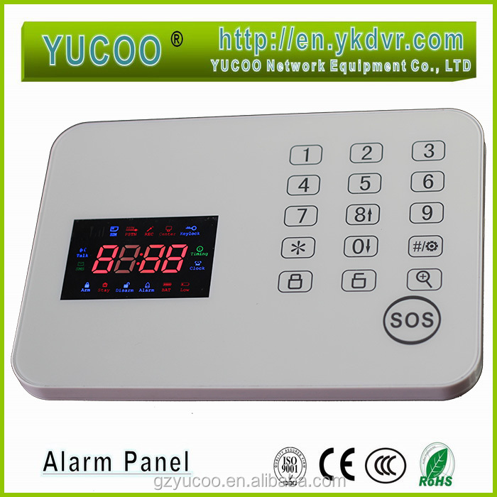 Best-selling burglar alarm control panel ,Burglar and Intruder systems
