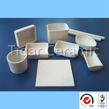 High performance customized 99~99.7% alumina ceramic for furnace parts with effective cost and long working life