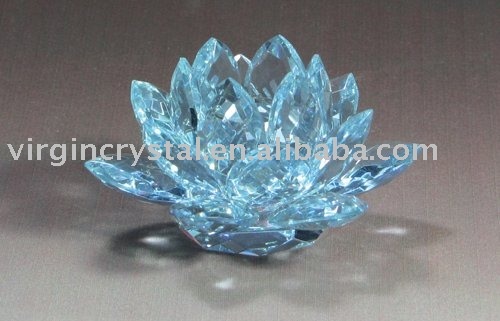 crystal lotus for wedding favors or decoration