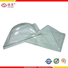 polycarbonate plastic round skylight domes