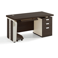 Office desk furniture panel wooden computer desk staff office desk set one seater table