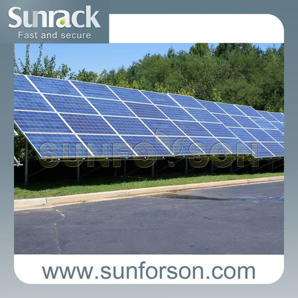 50KW Solar Ground Mounting System