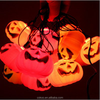 super powered led solar pumpkin string light in holiday lights for holiday crafts