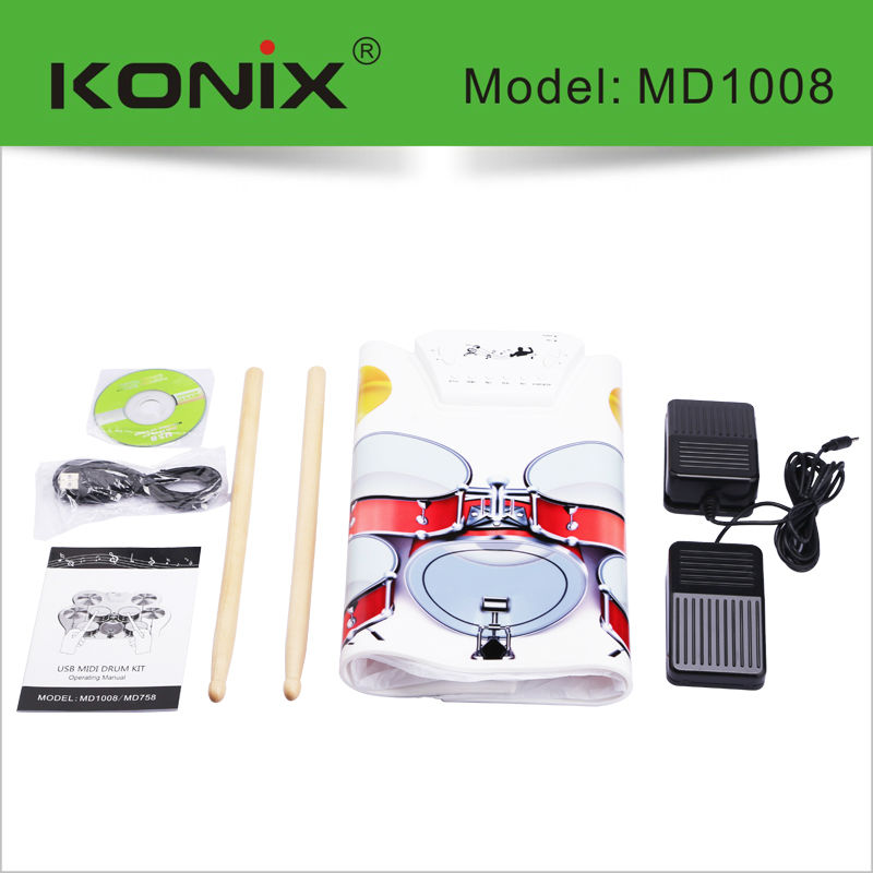 electronics gift, electric drum set, miniature drum set with perfect sound