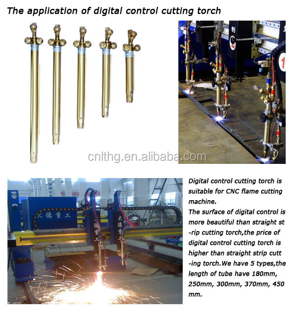 370 mm Digital Cutting Torch oxy acetylene automatic cutting torch