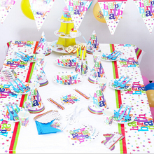 Kids Birthday Theme Party Sets New Year Decoration Paper Party Birthday Favors for Kids
