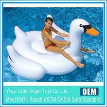 Inflatable Water Play float Equipment Inflatable swan pool float