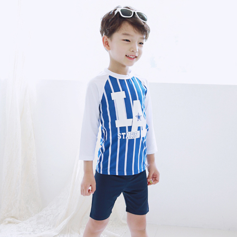 HT-LBS western baby boy beach wear boy men children muslim swimwear kids swimsuit models 2017