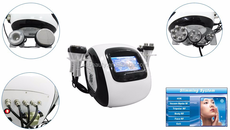 ultrasound cavitation slimming machine radio frequency fat removal machine