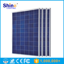 China Suppliers 1650*992*40/45/50 Size Polycrystalline Silicon cell germany solar panels 250 watt cheap price list for home