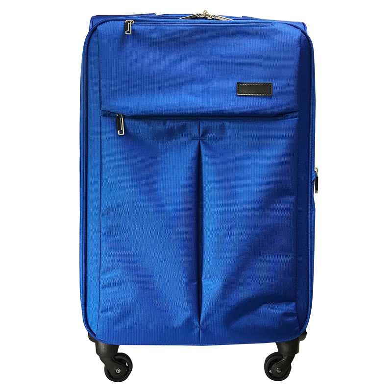 USB Charging Port Polyester Luggage Travel Bags With WET Compartment