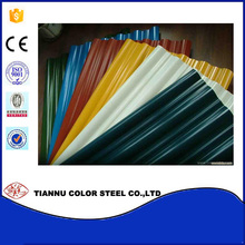 Factory Customized metal roofing tile/Coloured Roofing Corrugated Galvanized Metal Roof Sheet PPGI