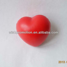 pu stress heart toy