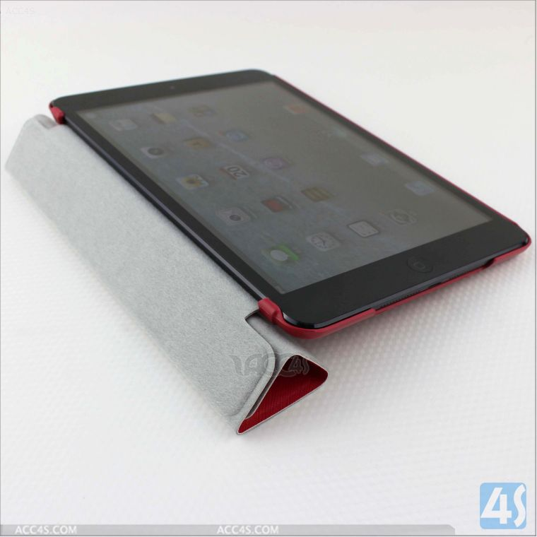 For iPad Mini Retina Leather Tablet Case Made in China P-IPDMINIiiCASE013