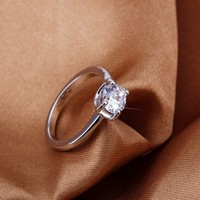 Wholesale China Suppliers Fascinating Austria Crystal Ring Jewelry