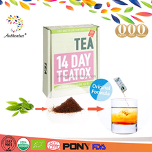 Authentea Weight Loss Teatox Bootea 14days Benefit Easy Slim Tea