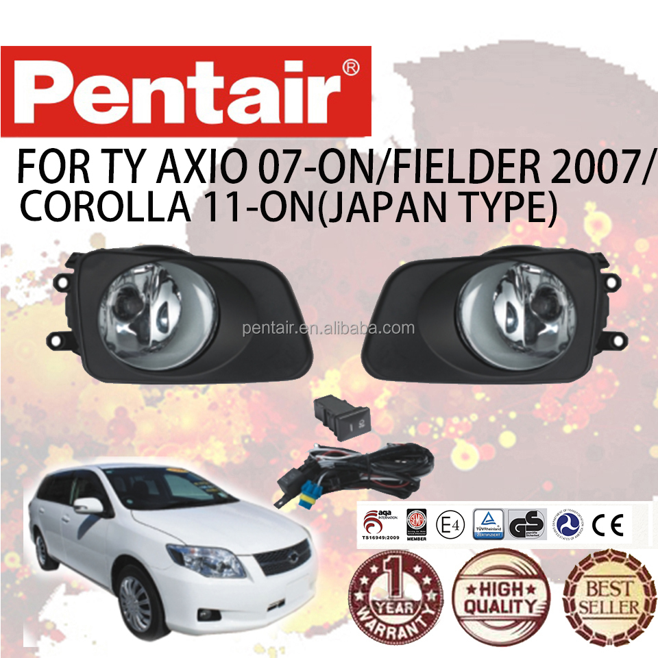 PENTAIR WATERPROOF CAR FOG LAMP AXIO 07-ON FIELDER 2007/COROLLA 11-ON(JAPAN TYPE) CAR FOG LIGHT