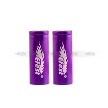15A high drain 18650 battery Efest purple 18500 1000mah 3.7v li-ion battery
