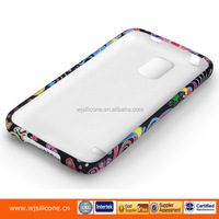 Customized Printing TPU Gel Smartphone Multifunction Cover Factory For Samsung S5
