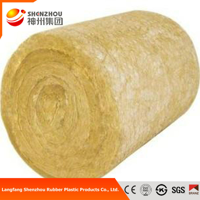 acoustic and best price-rock wool insulation roll wire mesh price